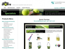 Active Sports: Playmate Tennis Ball Machines