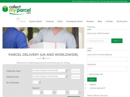 collectmyparcel.com for all your parcel and pallet needs