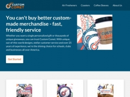 Personalized Merchandise & Products at Custom Comet