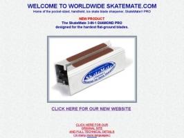 Adjustable Pocket Ice Skate Sharpener: SkateMate