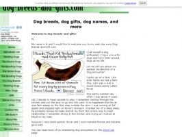 Dog Breeds and Gifts