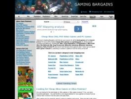 Gaming Bargains