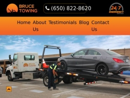Bruce Towing | 24hr Towing & Roadside Services in San Bruno