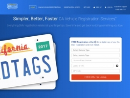 Simpler, Better, Faster CA Vehicle Registration Services