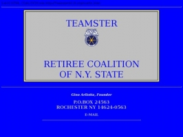 Teamster Retiree Coalition of N.Y. State