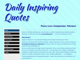 Daily Inspiring Quotes