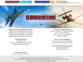 Concorde Aircraft Batteries