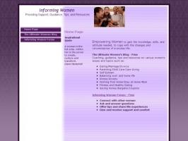 Informing Women