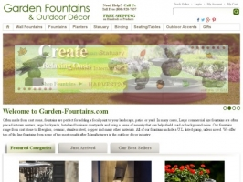 Garden and Wall Fountains