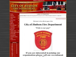 Hudson NY Fire Department