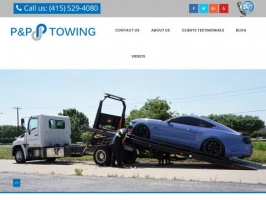 San Francisco Towing & Roadside Assistance | P&P Towing