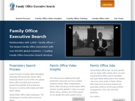 Family Office Executive Search