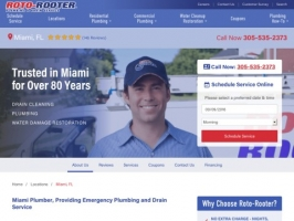 Roto-Rooter: Plumbers in Miami