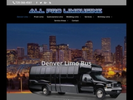 Denver Limo - All Pro Limousine Denver