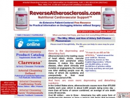 Atherosclerosis Controlled Nutritionally At 50+
