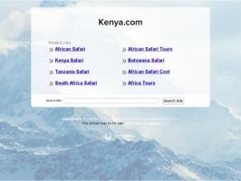 Kenya Safari Africa Vacation!
