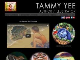 Tammy Yee, author and illustrator of childrens bo