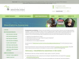 Simmons: Mesothelioma Awareness
