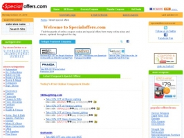 SpecialOffers.com Free Coupons