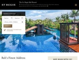 St. Regis: Luxury Bali Resort in Nusa Dua