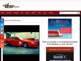 DragTimes.com - Drag Racing Timeslip Database