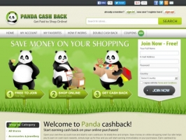 Panda Cash Back Website