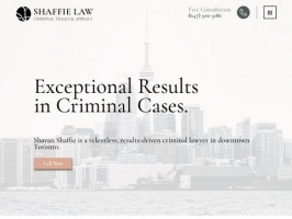 Toronto DUI Lawyer | Criminal Defence Lawyer | Shaffie Law