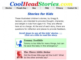 CoolHeadStories for Kids from Ages 5-8