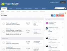 Moving to Adelaide Forum