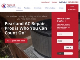 AC Repair Pearland TX | Total HVAC 24/7 Air Conditioning