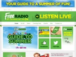 Howards Free Radio Website