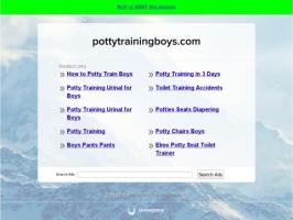 Potty Training Boys