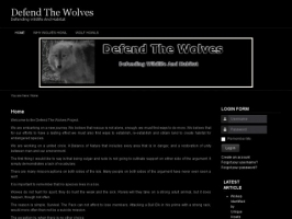 Defend The Wolves WIldlife Rescue