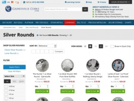 Gainesville Coins - Silver Rounds For Sale