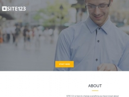 SITE123 - By far the easiest free website builder