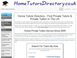 Home Tutors Directory