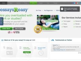 EssaysReasy: Essay Writers