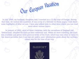 European Photo Album