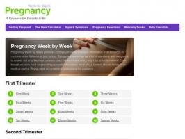 Pregnancy Week by Week - Maternity & Pregnancy Resources