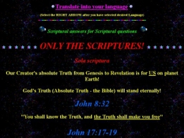 Truth Searcher Web Page