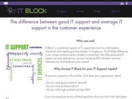 IT Block - IT Support Singapore