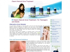 Clearin Acne Natural Alternative Treatment
