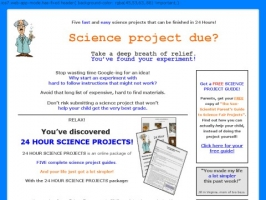 24 Hour Science Projects