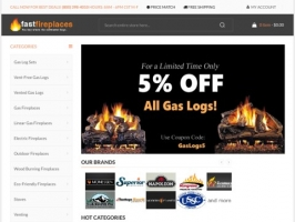 Gas Logs & Fireplaces