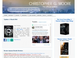 Christopher G. Moores Asia Fiction