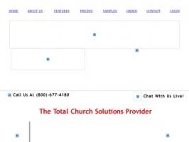 Discount Church Website Templates