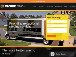 Tiger Moving and Storage: New Jersey Moving Company