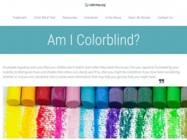 Colorblindness Resources