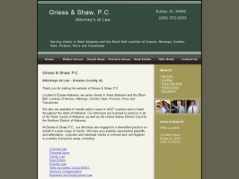 Griess & Shaw, P.C. Attorneys At Law