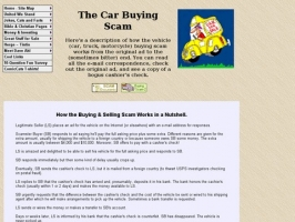 Car Buying Scam: How it Works